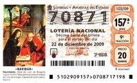 Premios de Loterías de más de 2.500 euros pagarán un 20% ¡nuevo impuesto!