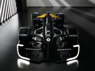 Renault RS 2027 Vision Concept, el auto de F1 contra el que los gamers podrán competir en tiempo real