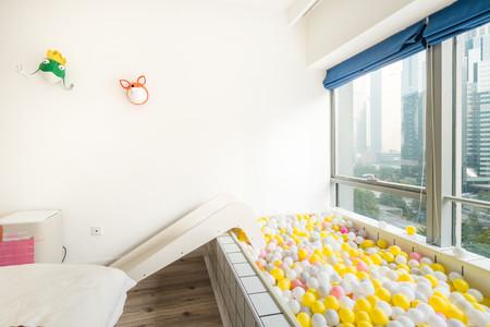 Airbnb Con Tobogan Y Vistas A La Ciudad En Pekin China