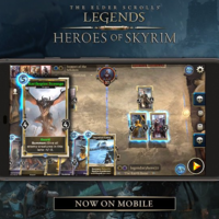 The Elder Scrolls: Legends ya está disponible en dispositivos móviles iOS y Android