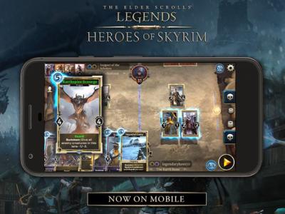 The Elder Scrolls: Legends ya está disponible en dispositivos móviles iOS y Android