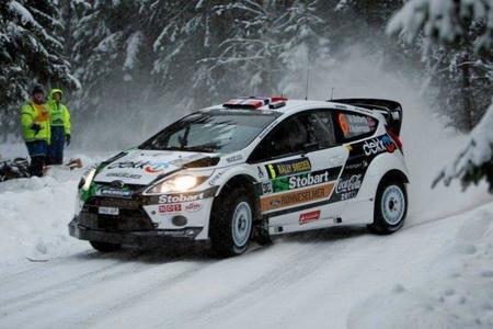 Rally de Suecia 2011: Mads Ostberg termina la primera etapa líder