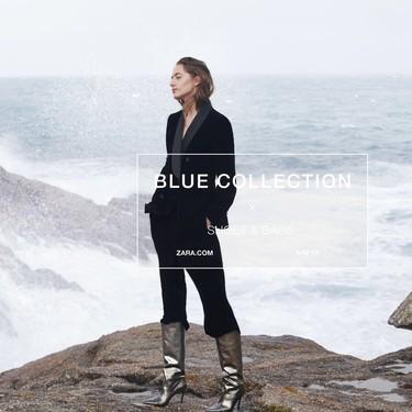 Con la llegada de la época de fiestas Zara presenta su colección de calzado Blue Collection: diseños elegantes (y muy originales)