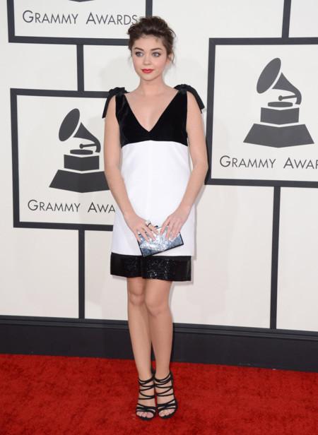 Sarah Hyland Grammy 2014