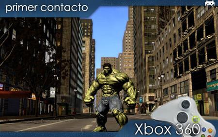 'El Increíble Hulk': primer contacto