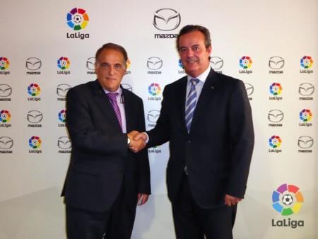 Mazda patrocinará LaLiga 2015-2016 y aportará sus coches como vehículos oficiales