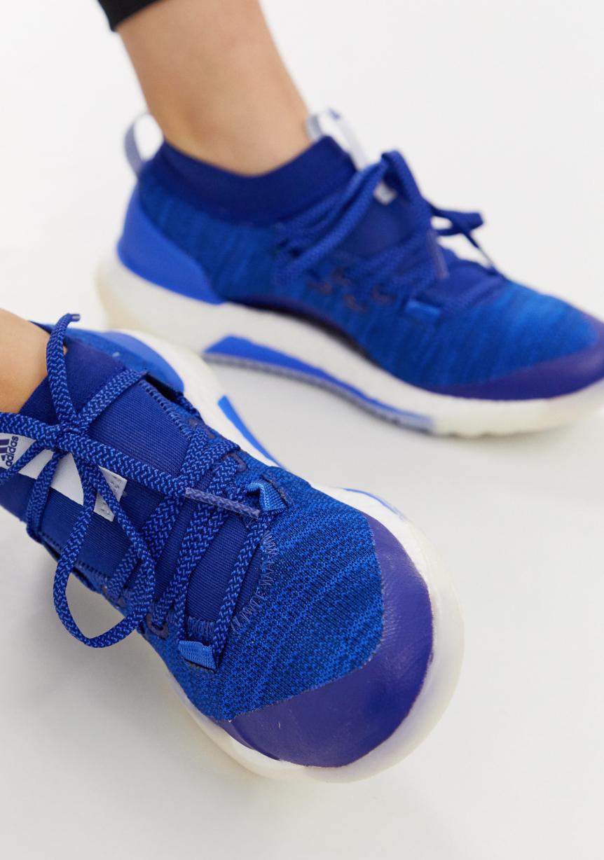 Zapatillas de deporte en azul marino PureBOOST 3.0 de adidas