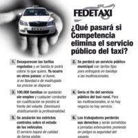 Verdades, medias verdades y mentiras de la patronal del Taxi en su llamada a la huelga