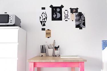 Hazlo tú mismo: una mesa a medio pintar
