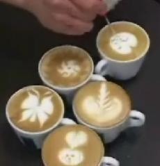 Coffee art, el arte de la crema del café