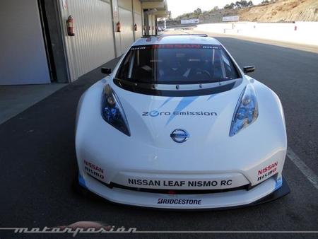 Nissan Leaf Nismo RC frontal