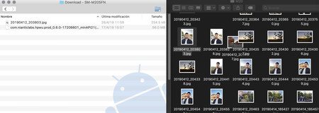 Android File Transfer Operation