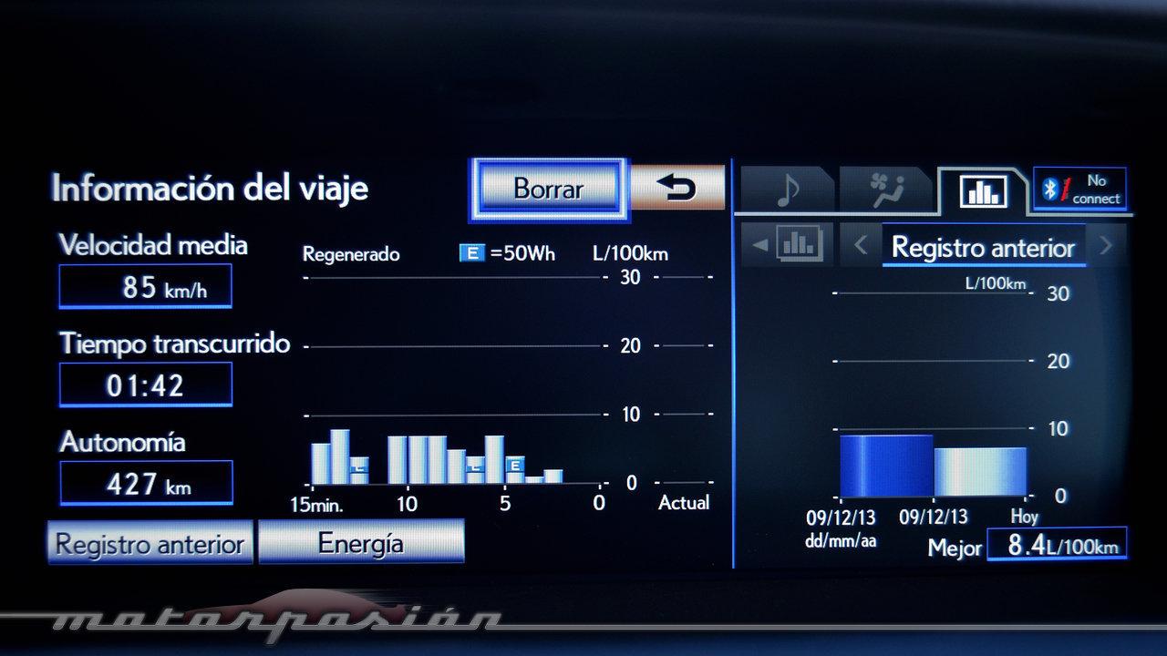 Foto de Lexus GS 300h (presentación) (20/22)