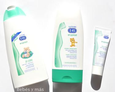 Probamos la gama Eryplast de Lutsine, productos para cuidar la delicada piel del bebé