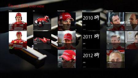 Ferrari 2013 para Windows 8