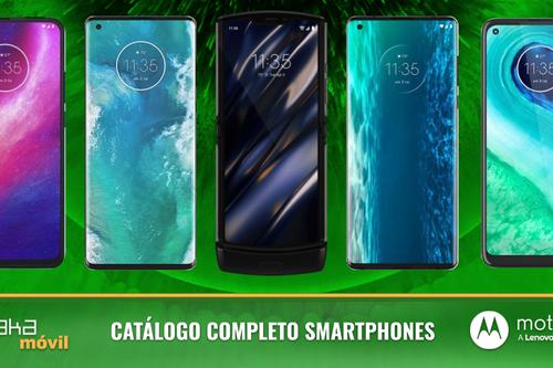 Motorola Edge y Edge Plus, así encajan dentro del catálogo completo de smartphones Motorola en 2020