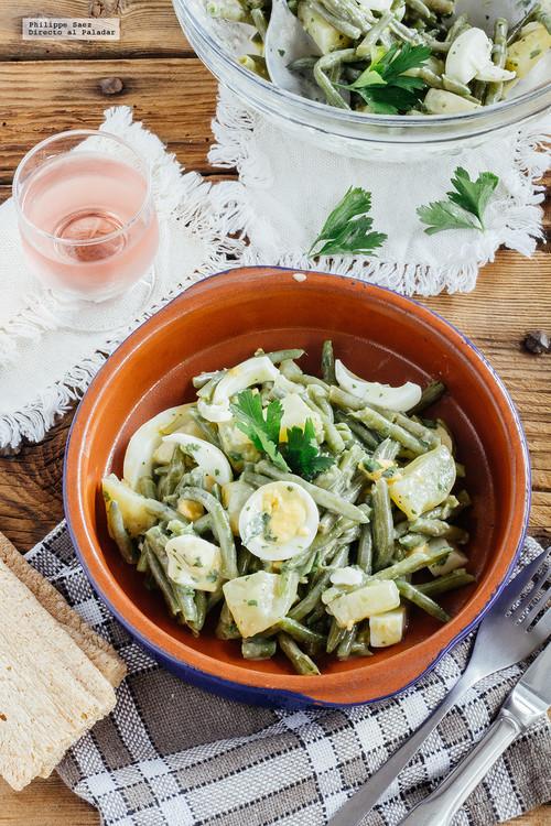 Ensalada de judías verdes con aderezo de menta: receta para el verano