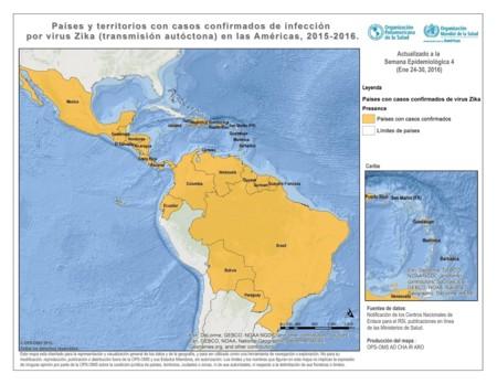 Zika-mapa