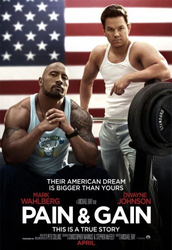 El cartel final de Pain & Gain