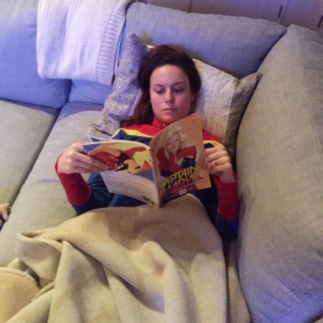 Brie Larson Prepara Captain Marvel