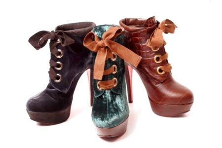Este Invierno se llevan los botines de tacón y de cordones: ¡átate!