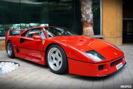 25 Aniversario del Ferrari F40 por todo lo alto en Barcelona