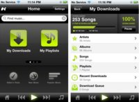 Kazaa llega al iPhone para intentar competir con Spotify