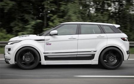 Vista lateral del Range Rover Evoque by Prior Design