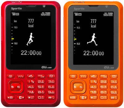 Toshiba Sportio W63T, móvil para deportistas
