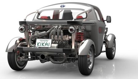Toyota Kikai concept: mitad buggy, mitad Hot Rod