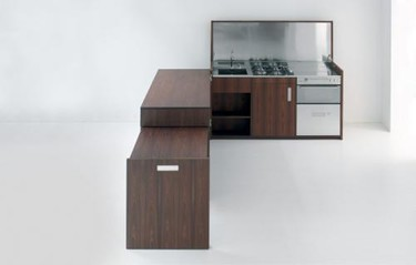 Opening, una cocina oculta y móvil