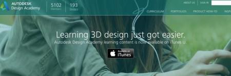 Autodesk lleva su Design Academy a iTunes U y la iBooks Store