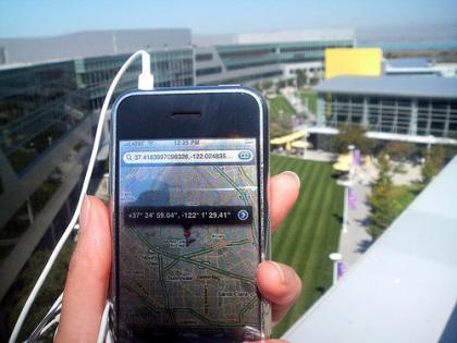 ¿Es realmente bueno integrar GPS en el iPhone?