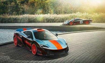 Lo has soñado y MSO lo ha hecho realidad: un McLaren 675LT con los colores Gulf del F1 GTR