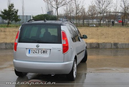 Škoda Roomster, prueba (valoración y ficha técnica)