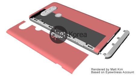LG V20 tendría nuevo diseño que evitaría apagar el móvil con cada cambio de módulo