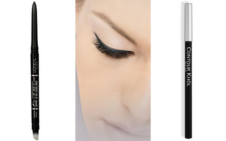 Duelo de perfiladores de ojos L'Oréal: Contour Khol vs. Infalible
