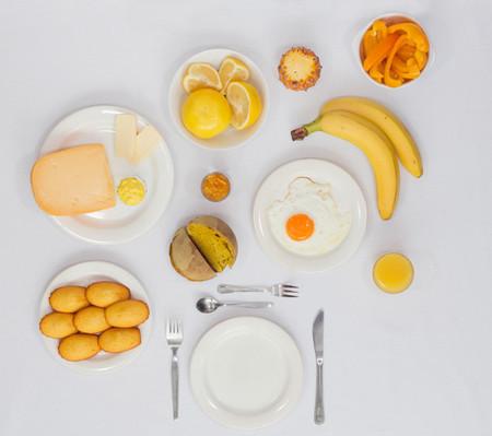 Desayunos monocromáticos, por Fabienne Plangger