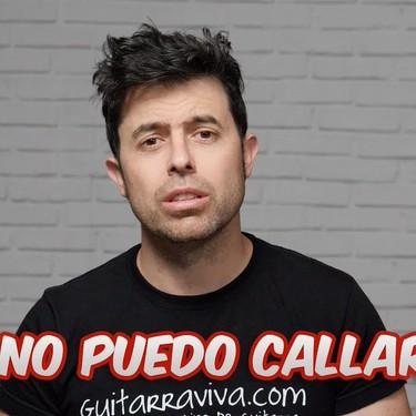 "Guitarraviva se planta ante las políticas de copyright de YouTube: ""He decidido no doblegarme"""
