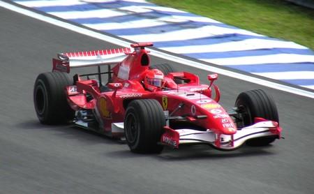 Schumacher Ferrari Imola 2006
