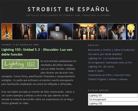 Seminario Strobist en Madrid