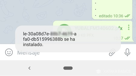 Instalado Android