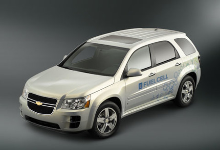 GM prueba la viabilidad de la pila de combustible con Chevrolet Equinox eléctricos