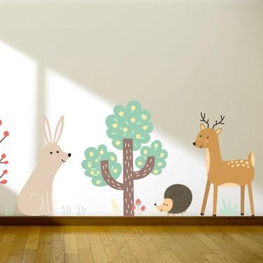Vinilos adhesivos de pared, los grandes aliados para dar un toque renovado a una habitación infantil