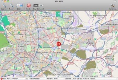 Mac WPS, posición aproximada con tu Mac utilizando Apple Core Location