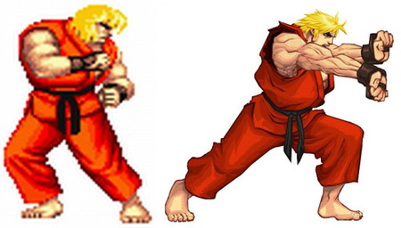 Ken en Super Street Fighter II Turbo HD Remix