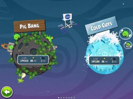 La NASA colabora con el juego Angry Birds Space para enseñar física, gravedad y astronomía a toda la familia