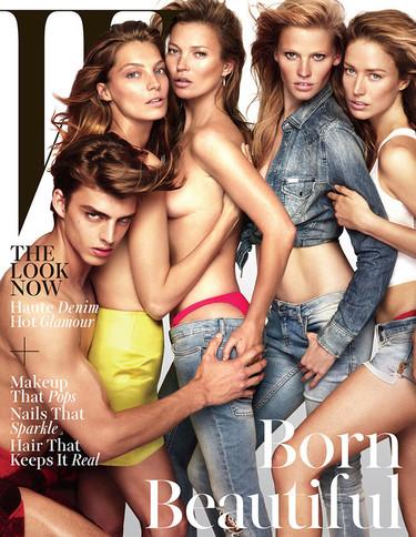 La portada de revista más top: de Kate Moss a Lara Stone