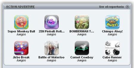 160 juegos disponibles en el lanzamiento de la App Store