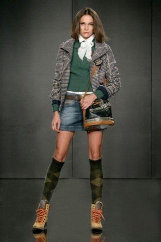 Pepe Jeans, Otoño-Invierno 2010/2011 Alexa Chung